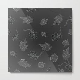 Leaves on The Wind Metal Print
