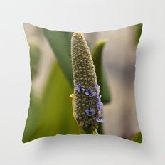 Tiny Purples Throw Pillow