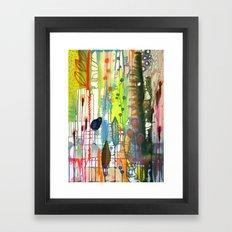 la traverse Framed Art Print