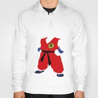 dragonball Hoodies featuring Krillin by JHTY