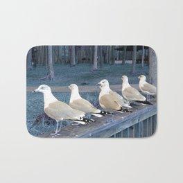 """""""Ducks"""" in a row :) Bath Mat"""