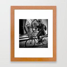 I wish I was Italian Framed Art Print