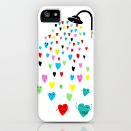 Love shower iPhone Case