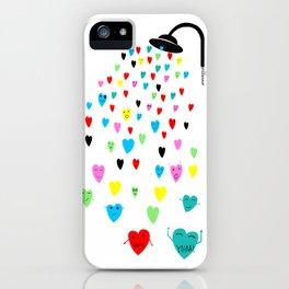 Love shower iPhone Case