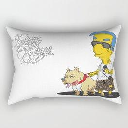 chicano cartoon simpson milhouse Rectangular Pillow