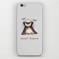 Count Pugula iPhone & iPod Skin