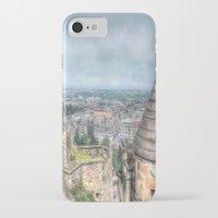 edinburgh iPhone & iPod Cases featuring Edinburgh Castle by Christine Workman