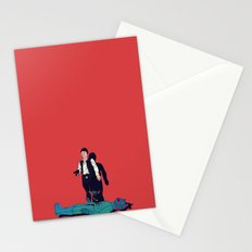 Over my dead body Stationery Cards