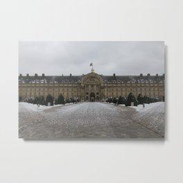 Hotel Des Invalides Metal Print