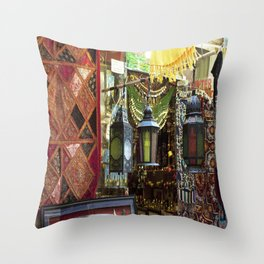 Arabian Lanterns 2! Throw Pillow