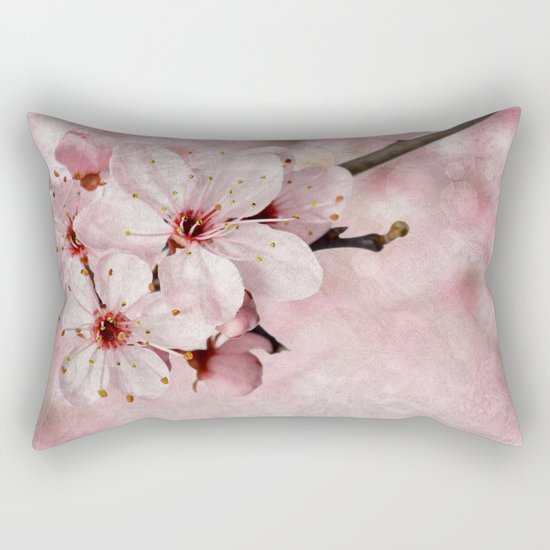 Cherry Blossom #2 Rectangular Pillow