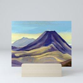 Mount Ngauruhoe Mini Art Print