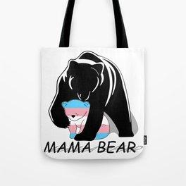 Mama Bear Transgender Tote Bag