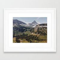 montana Framed Art Prints featuring Montana  by Joe Greer
