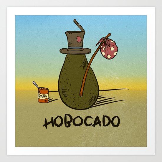 HOBOCADO Art Print