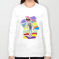 80s Long Sleeve T-shirts featuring 80s werewolf by JudithzzYuko