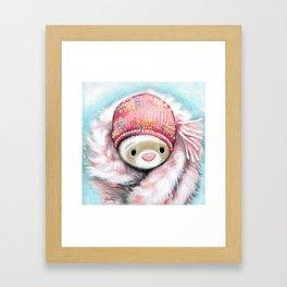 Winter Princess Framed Art Print