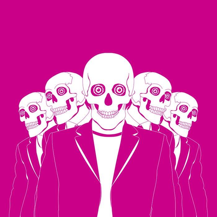 Dead Gang Duvet Cover
