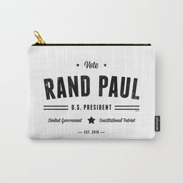 Vote Rand Paul 2016 Carry-All Pouch