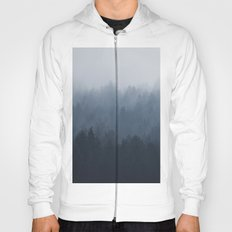 Fog in the forest Hoody