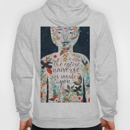 The entire universe is inside you Hoody