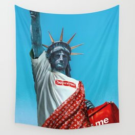 Statue of Liberty Supreme Wall Tapestry