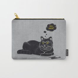 Chilling Cat Carry-All Pouch