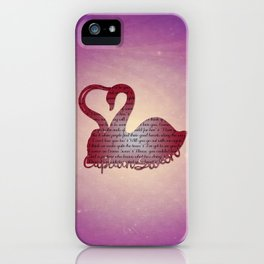 It's True Love iPhone Case