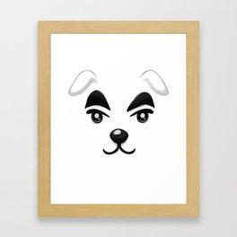 Animal Crossing KK Slider Framed Art Print