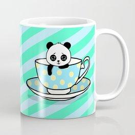 A Tired Panda Coffee Mug