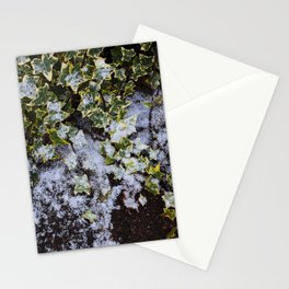 Neve em Londres - 2 Stationery Cards