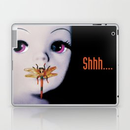 Silence of the lambs - film poster spoof Laptop & iPad Skin