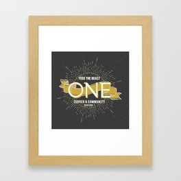 FTB One - Season 1 Framed Art Print