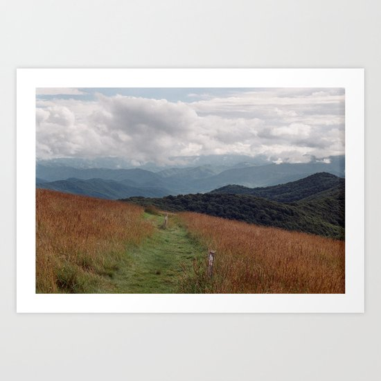 Max Patch Art Print
