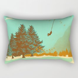 MOON SWING Rectangular Pillow