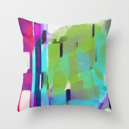 Charged Omnipresence Throw Pillow