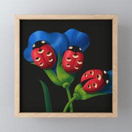 Ladybugs Framed Mini Art Print
