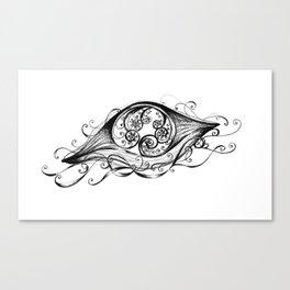 Floating Jellyfish Canvas Print