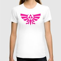 triforce T-shirts featuring Contrast Triforce by Rebekhaart