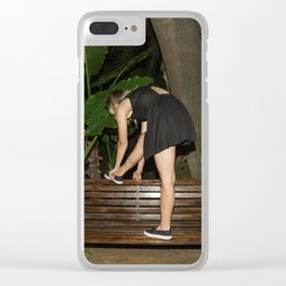 Dance all Night, Sleep all Day Clear iPhone Case