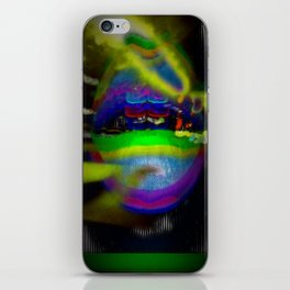Late Nyte Lypzz iPhone Skin