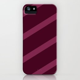 Cross Hatched 3 iPhone Case