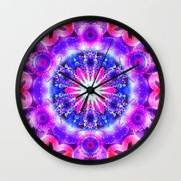 Elevation Mandala Redux - The Mandala Collection Wall Clock