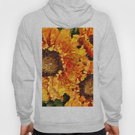 Sunflowers Abstracted Hoody