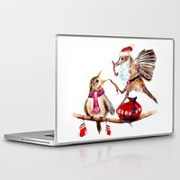 santa Laptop & iPad Skins featuring Santa by Anna Shell