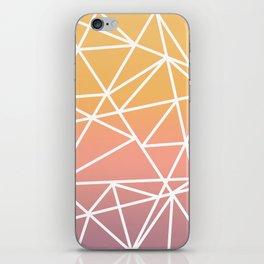 sunset geo iPhone Skin