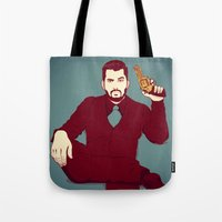 welcome Tote Bags featuring Welcome by FalcaoLucas