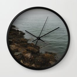 Foggy Ocean Wall Clock