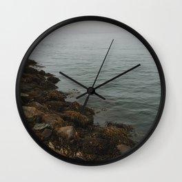 Foggy Ocean Wall Clock