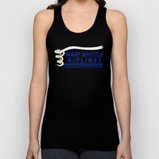 Warp Whistle Airlines Unisex Tank Top